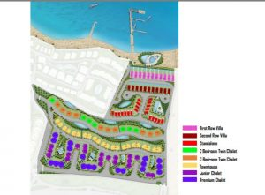 مشروع بالم هيلز يقع علي البحر
